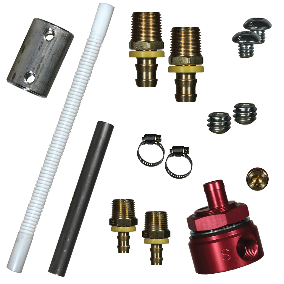 FASS Fuel Systems Diesel Fuel Bulkhead and Convoluted Suction Tube Kit STK-1003