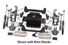 "Zone Offroad - Zone Offroad Chevy/GMC 5"" Suspension System - ZONC12N/C13N"