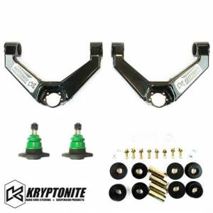 Kryptonite - KRYPTONITE UPPER CONTROL ARMS 2011-2019  Chevy Silverado/GMC Sierra 2500 HD/3500 HD