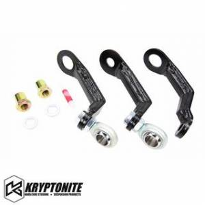 Kryptonite - KRYPTONITE Pitman and Idler Arm Support Kit 2011+ Chevy Silverado/GMC Sierra 2500 HD/3500 HD