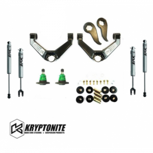 Kryptonite -  KRYPTONITE STAGE 3 LEVELING KIT WITH FOX SHOCKS 2011-2019