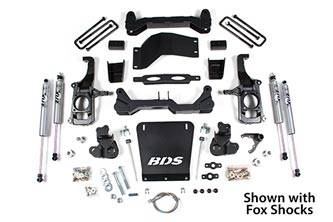 "BDS suspension - 2011-2018 4-1/2"" Suspension Lift Kit 