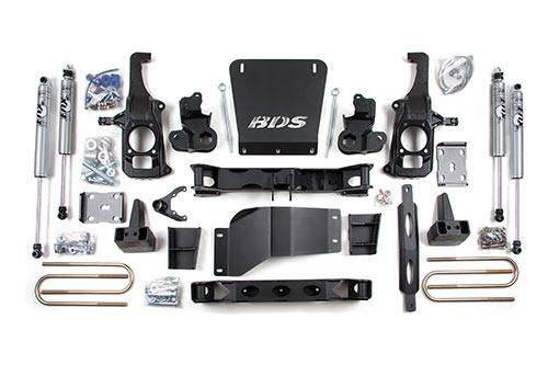 "BDS suspension - 2011-2018 6.5"" Suspension Lift Kit - Chevy/GMC"