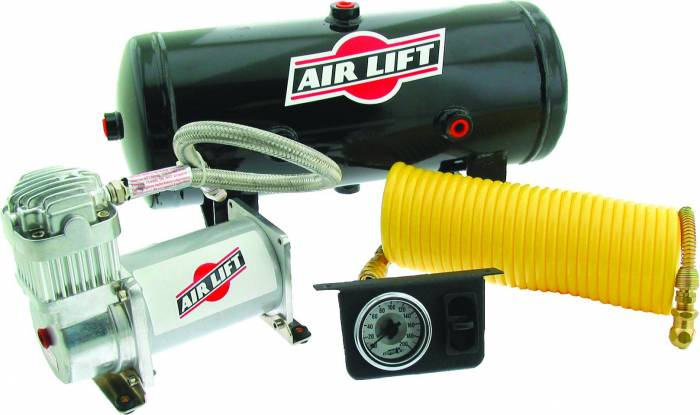 Air Lift - Air Lift ON BOARD AIR COMPRESSOR KIT 25690