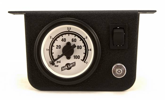 Air Lift - Air Lift Single Needle Air Gauge 26156