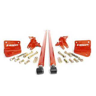"HSP Diesel - HSP LML - 70"" Bolt On Traction Bars 4"" Axle Diameter"