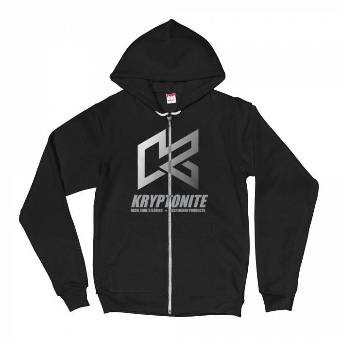 Kryptonite Black Fading K Hoodie