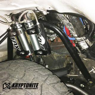 Kryptonite - KRYPTONITE DUAL SHOCK HOOP PACKAGE w/ STAGE 2 CONTROL ARMS 2001-2010 Chevy Silverado/GMC Sierra 2500 HD/3500 HD