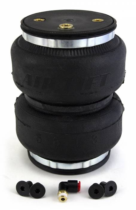 Air Lift - Air Lift LOADLIFTER 5000 ULTIMATE REPLACEMENT AIR SPRING; REAR; INCLUDES HARDWARE AND ONE 84201