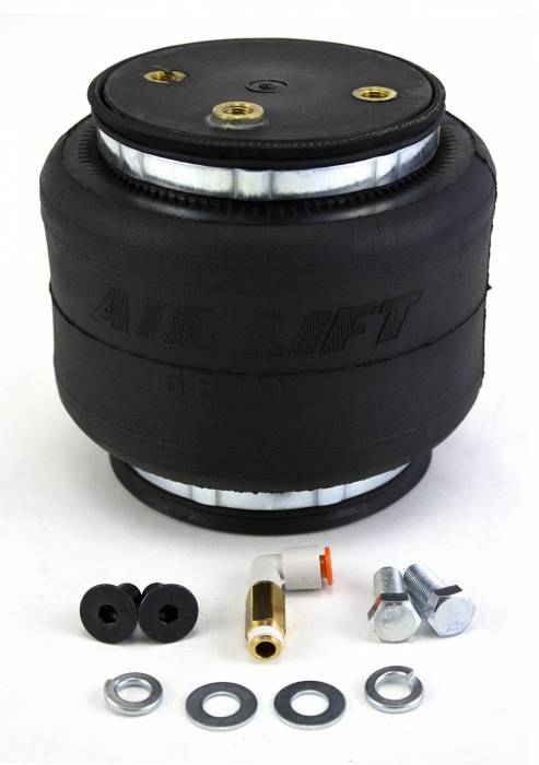 Air Lift - Air Lift LOADLIFTER 5000 ULTIMATE REPLACEMENT AIR SPRING; FRONT; INCLUDES HARDWARE AND ON 84252