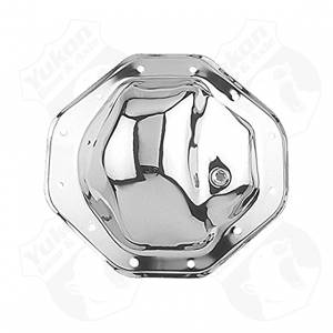 Steering And Suspension - Differential Covers - Yukon Gear & Axle - Chrome cover for Chrysler 9.25""