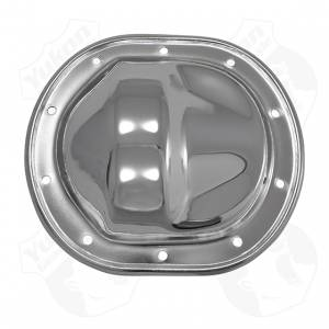 "Steering And Suspension - Differential Covers - Yukon Gear & Axle - Chrome Cover for 10.5"" GM 14 bolt truck"