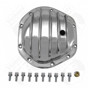 Steering And Suspension - Differential Covers - Yukon Gear & Axle - Polished Aluminum replacement Cover for Dana 44