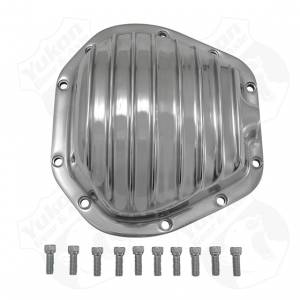 Steering And Suspension - Differential Covers - Yukon Gear & Axle - Polished Aluminum replacement Cover for Dana 60 reverse rotation