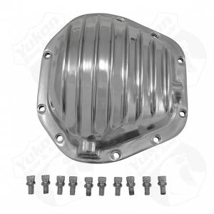 Steering And Suspension - Differential Covers - Yukon Gear & Axle - Polished Aluminum replacement Cover for Dana 60