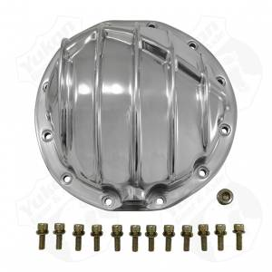 Steering And Suspension - Differential Covers - Yukon Gear & Axle - Polished Aluminum Cover for GM 12 bolt car