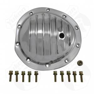 "Steering And Suspension - Differential Covers - Yukon Gear & Axle - Polished Aluminum Cover for 8.5"" GM"