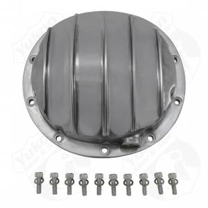 "Steering And Suspension - Differential Covers - Yukon Gear & Axle - Polished Aluminum Cover for 8.6"", 8.2"" and 8.5"" GM rear"