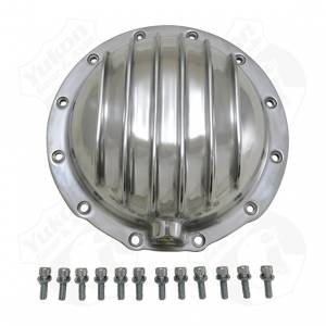 Steering And Suspension - Differential Covers - Yukon Gear & Axle - Finned Polished Aluminum Cover for AMC Model 20