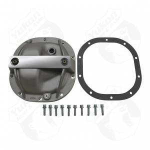 "Steering And Suspension - Differential Covers - Yukon Gear & Axle - 8.8"" Ford low profile TA HD Aluminum rear Cover"