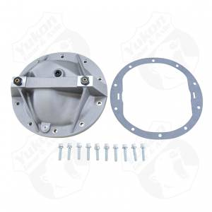 "Steering And Suspension - Differential Covers - Yukon Gear & Axle - Aluminum Girdle Cover for 8.2"" and 8.5"" GM TA HD"