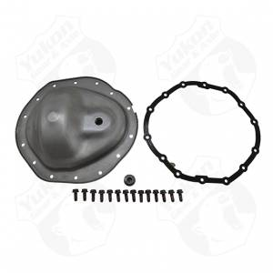 "Steering And Suspension - Differential Covers - Yukon Gear & Axle - Steel 14 bolt cover for Chrysler 9.25"" front, 2003-2013"
