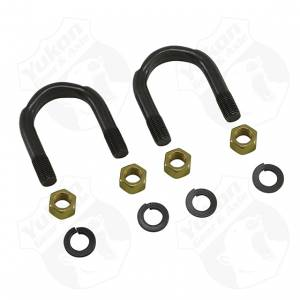 "Axles & Components - Components - Yukon Gear & Axle - 1350 & 1410 U/joint U-Bolts, 3/8"" X 1-11/16"", kit"