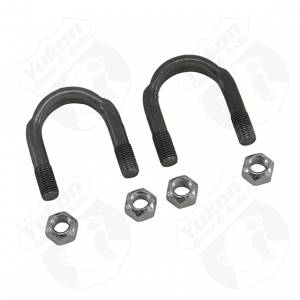 "Axles & Components - Components - Yukon Gear & Axle - 1310 and 1330 U/Bolt kit (2 U-Bolts and 4 Nuts) for 9"" Ford."