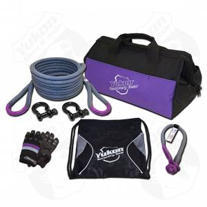 "Towing - Towing Accessories - Yukon Gear & Axle - Yukon recovery gear kit with 7/8"" kinetic rope"