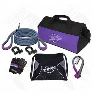 "Towing - Towing Accessories - Yukon Gear & Axle - Yukon recovery gear kit with 3/4"" kinetic rope"