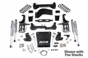 "Steering And Suspension - Lift & Leveling Kits - BDS suspension - 2011-2019 4-1/2"" Suspension Lift Kit 