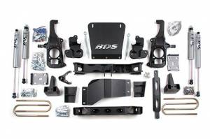 "Steering And Suspension - Lift & Leveling Kits - BDS suspension - 2011-2018 6.5"" Suspension Lift Kit - Chevy/GMC"