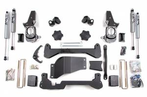 "Steering And Suspension - Lift & Leveling Kits - BDS suspension - 2001-2010 4.5"" Chevy / GMC 3/4 Ton Pickup 4WD 2500"
