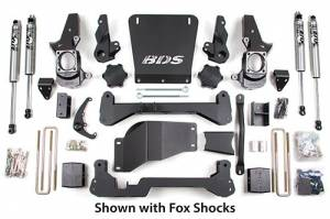 "Steering And Suspension - Lift & Leveling Kits - BDS suspension - 2001-2010 7"" Chevy / GMC 3/4 Ton Pickup 4WD 2500"
