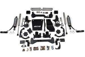 "Steering And Suspension - Lift & Leveling Kits - BDS suspension - 2001-2010 Chevy / GMC 3/4 Ton Pickup 4-1/2"" Coil-Over Lift Kit"