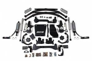 "Steering And Suspension - Lift & Leveling Kits - BDS suspension - 2001-2010 6.5"" Coil-Over Lift Kit Chevy / GMC 3/4 Ton Pickup 4WD 2500"