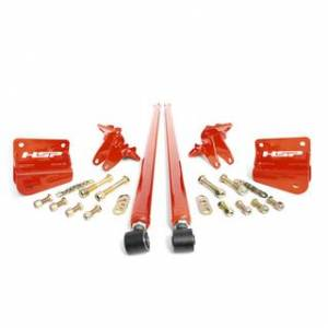 "Steering And Suspension - Traction Bars and Kits - HSP Diesel - HSP LML - 58"" Bolt On Traction Bars 4"" Axle Diameter"