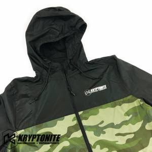 Gear & Apparel - Kryptonite - KRYPTONITE CAMO WINDBREAKER JACKET