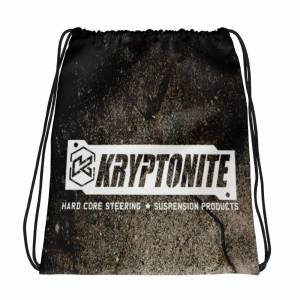 Gear & Apparel - Kryptonite - KRYPTONITE DRAWSTRING BAG