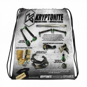 Gear & Apparel - SWAG - Kryptonite - KRYPTONITE PARTS DRAWSTRING BAG