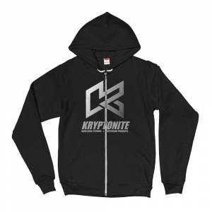 "Gear & Apparel - Kryptonite - KRYPTONITE FADE ""K"" ZIP UP HOODIE"