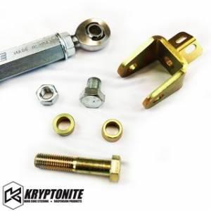 Steering And Suspension - Tie Rods and Parts - KRYPTONITE RACE SERIES TIE RODS 2001-2010 Chevy Silverado/GMC Sierra 2500 HD/3500 HD
