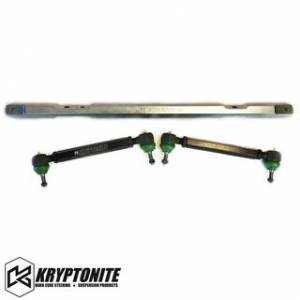 Steering And Suspension - Kits - Kryptonite - KRYPTONITE SS SERIES CENTER LINK AND TIE RODS w/ PISK KIT PACKAGE 2001-2010 Chevy Silverado/GMC Sierra 2500 HD/3500 HD