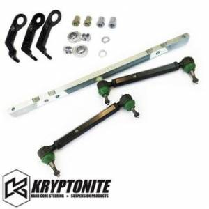 Steering And Suspension - Kits - Kryptonite - KRYPTONITE SS Series Center Link Tie Rod Package w/ PISK Kit 2011-2019 Chevy Silverado/GMC Sierra 2500 HD/3500 HD