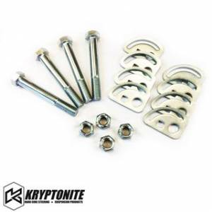 Steering And Suspension - Kits - Kryptonite - KRYPTONITE CAM BOLT KIT 2011-2019 Chevy Silverado/GMC Sierra 2500 HD/3500 HD