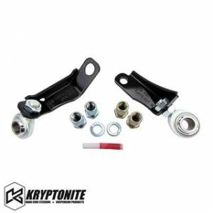 Steering And Suspension - Idler Arm - Kryptonite - KRYPTONITE Pitman and Idler Arm Support Kit 2001-2010 Chevy Silverado/GMC Sierra 2500 HD/3500 HD