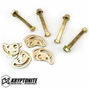Steering And Suspension - Kits - Kryptonite - KRYPTONITE CAM BOLT KIT 2001-2010  Chevy Silverado/GMC Sierra 2500 HD/3500 HD