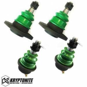 Steering And Suspension - Kits - Kryptonite - KRYPTONITE UPPER AND LOWER BALL JOINT PACKAGE DEAL (For Aftermarket Control Arms) 2001-2010 Chevy Silverado/GMC Sierra 2500 HD/3500 HD