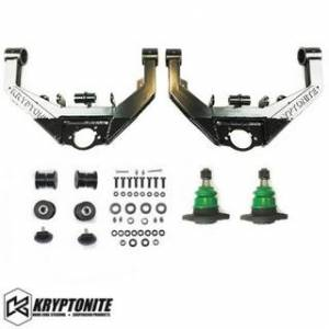 Steering And Suspension - Kits - Kryptonite - KRYPTONITE STAGE 2 UPPER CONTROL ARMS w/ DUAL SHOCK MOUNTS 2001-2010 Chevy Silverado/GMC Sierra 2500 HD/3500 HD