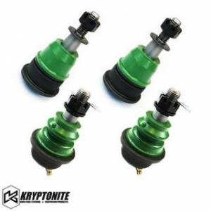 Steering And Suspension - Kits - Kryptonite - KRYPTONITE UPPER AND LOWER BALL JOINT PACKAGE DEAL (For Stock Control Arms) 2001-2010  Chevy Silverado/GMC Sierra 2500 HD/3500 HD